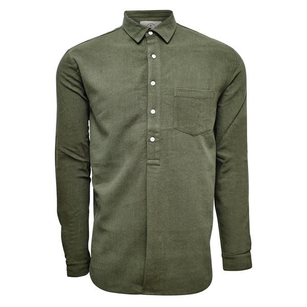Pop overshirt Olive
