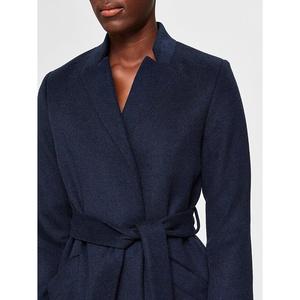 Mella Wool Coat Dark Sapphire