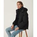 Filina Hood Jacket Black