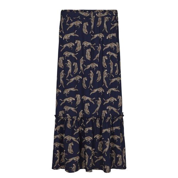 Welis Maxi Skirt Leopard