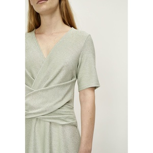 Utopio Dress Celadon Green