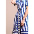 Circus Dress Blue/White