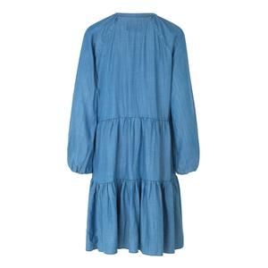 Lilla Dress Blue Denim