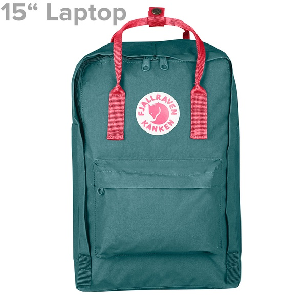 "Kanken 15"" Laptop Frost Green / Peach Pink"