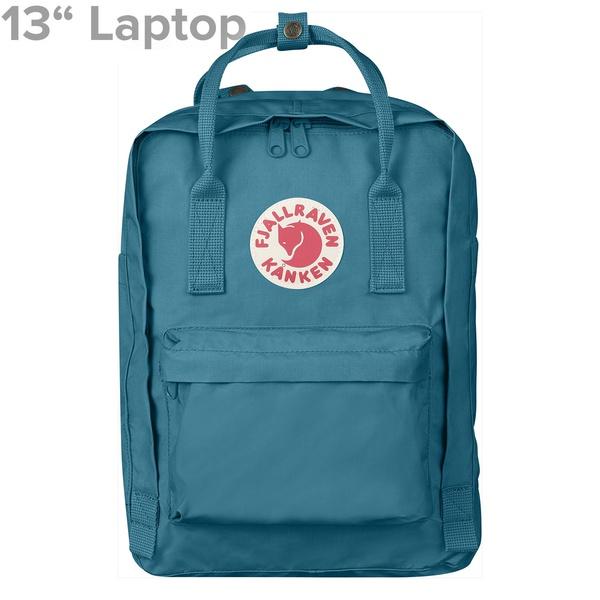 """Kanken 13"""" Laptop Lake Blue"""
