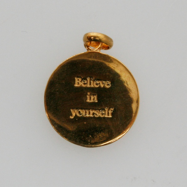 Anhänger believe in yourself