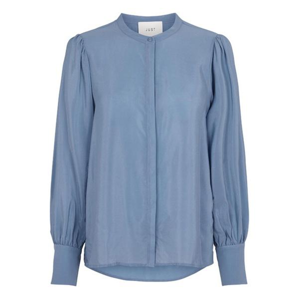 Silky Shirt Provincial Blue