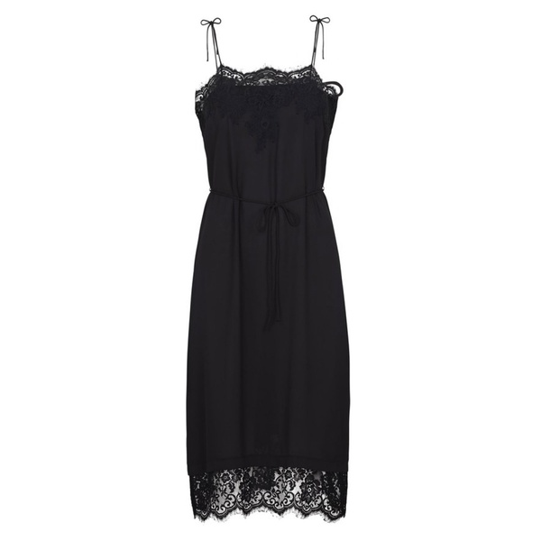 Spencer Slip Dress Black