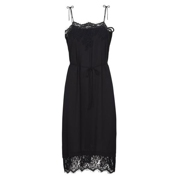 Spencer Slip Dress Black
