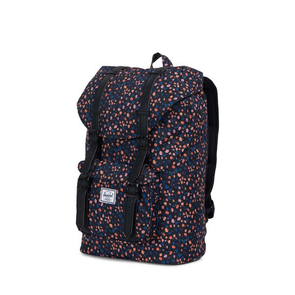 Little America mid Black mini Floral