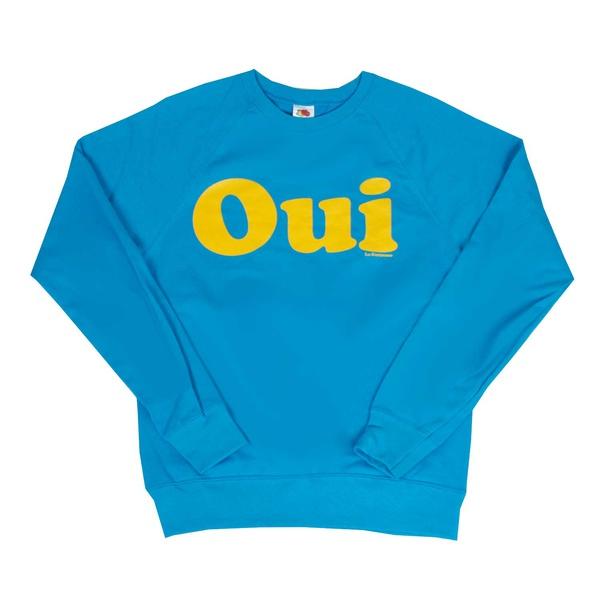 OUI Raglan Sweater Azure Blue