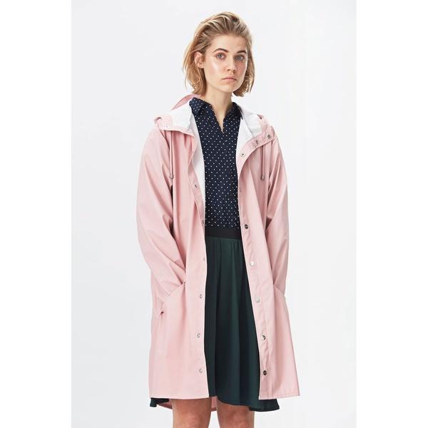 Rains Long Jacket Rose