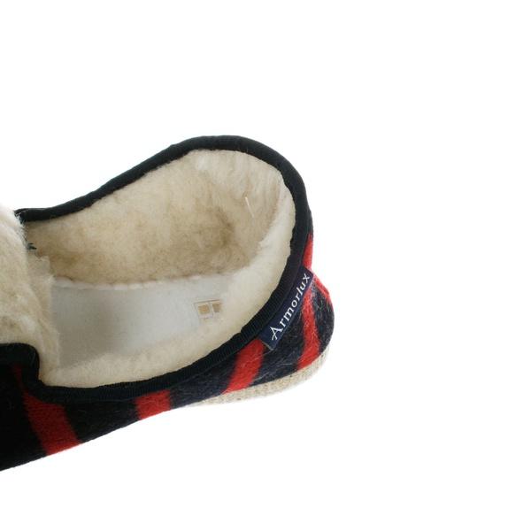 Slippers Marine / Rouge