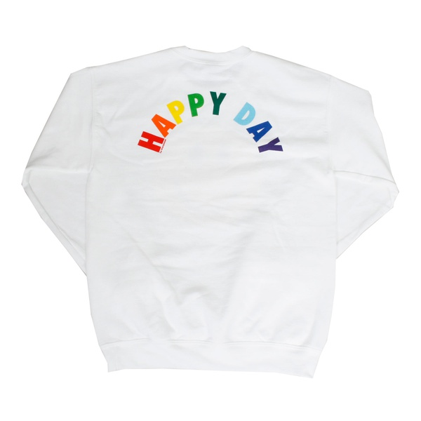 Sweater Happy Day Weiss