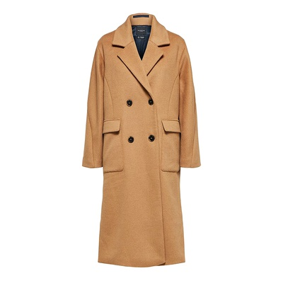 Element Wool Coat Tigers Eye