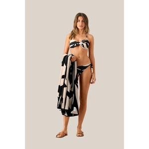 Seashell Towel Black Beauty
