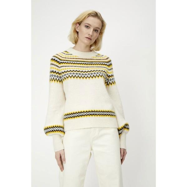 Svan Knit Pullover Antique White