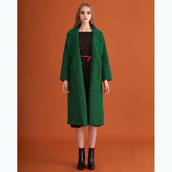 Portobello Coat Green