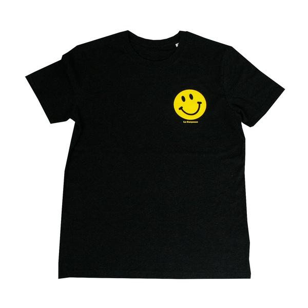 T-Shirt Little Smile Anthrazit