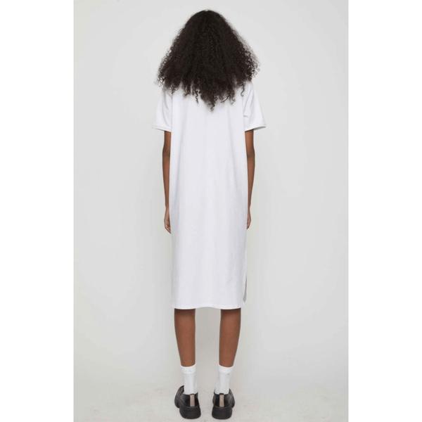 Santo Polo Dress White