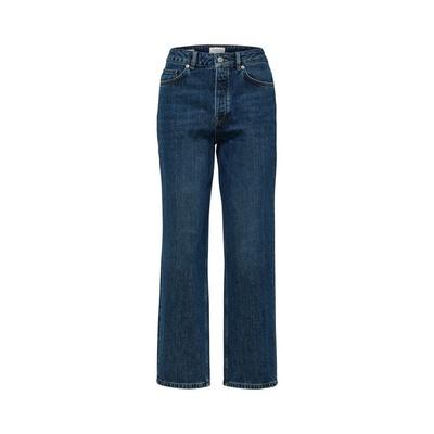Kate Straight Jeans Inky Blu