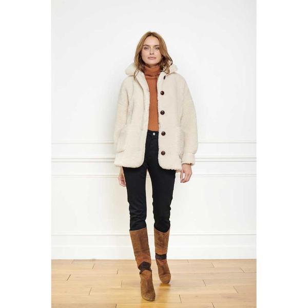 Mety Coat Craie