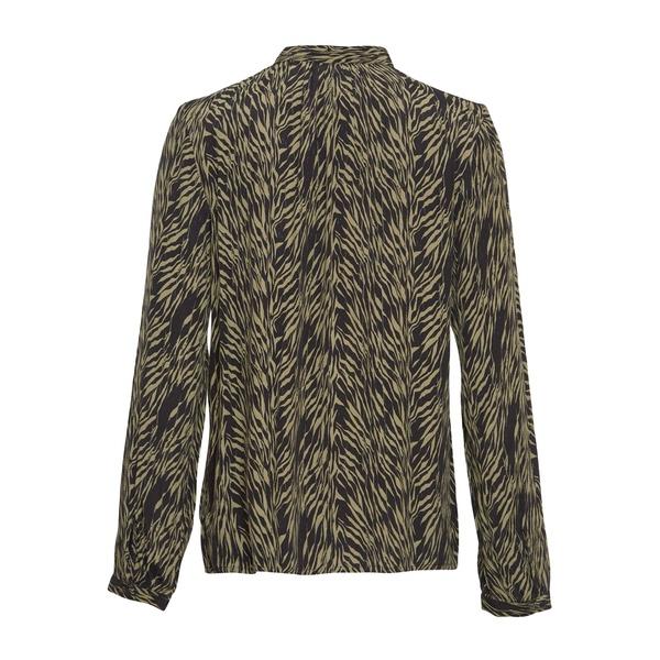 Calie Morocco Shirt Sage Zebra
