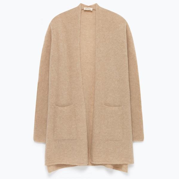 Damen Cardigan Vikiville Cotton Fabric