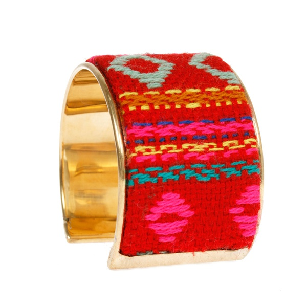 Grace Armreif Mexico Rot Pink
