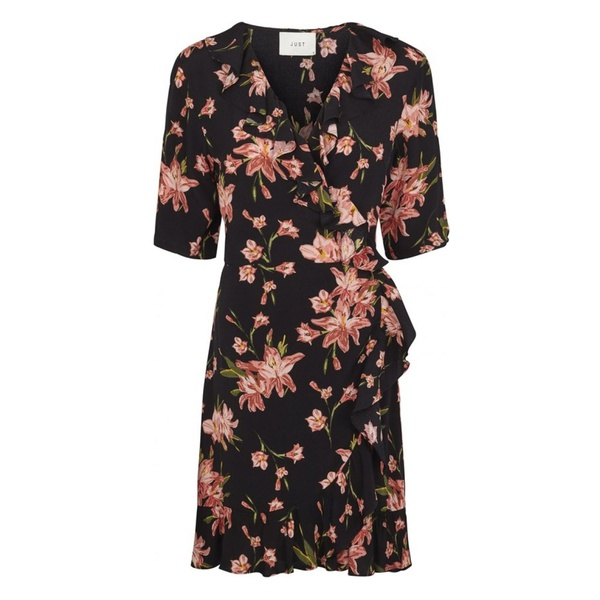 Oline Wrap Dress Cole