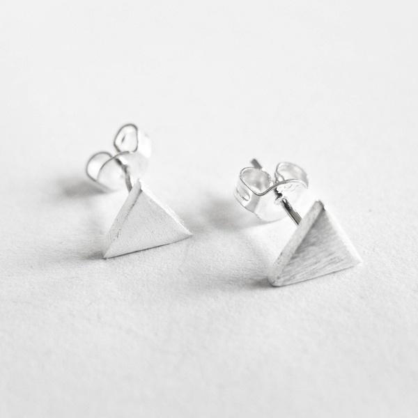 Tiny Triangel Silber