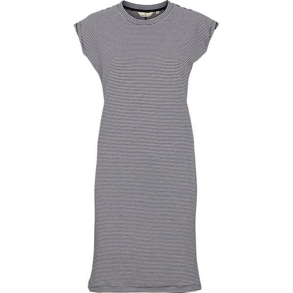 Hanna Stripe Kleid Black Off